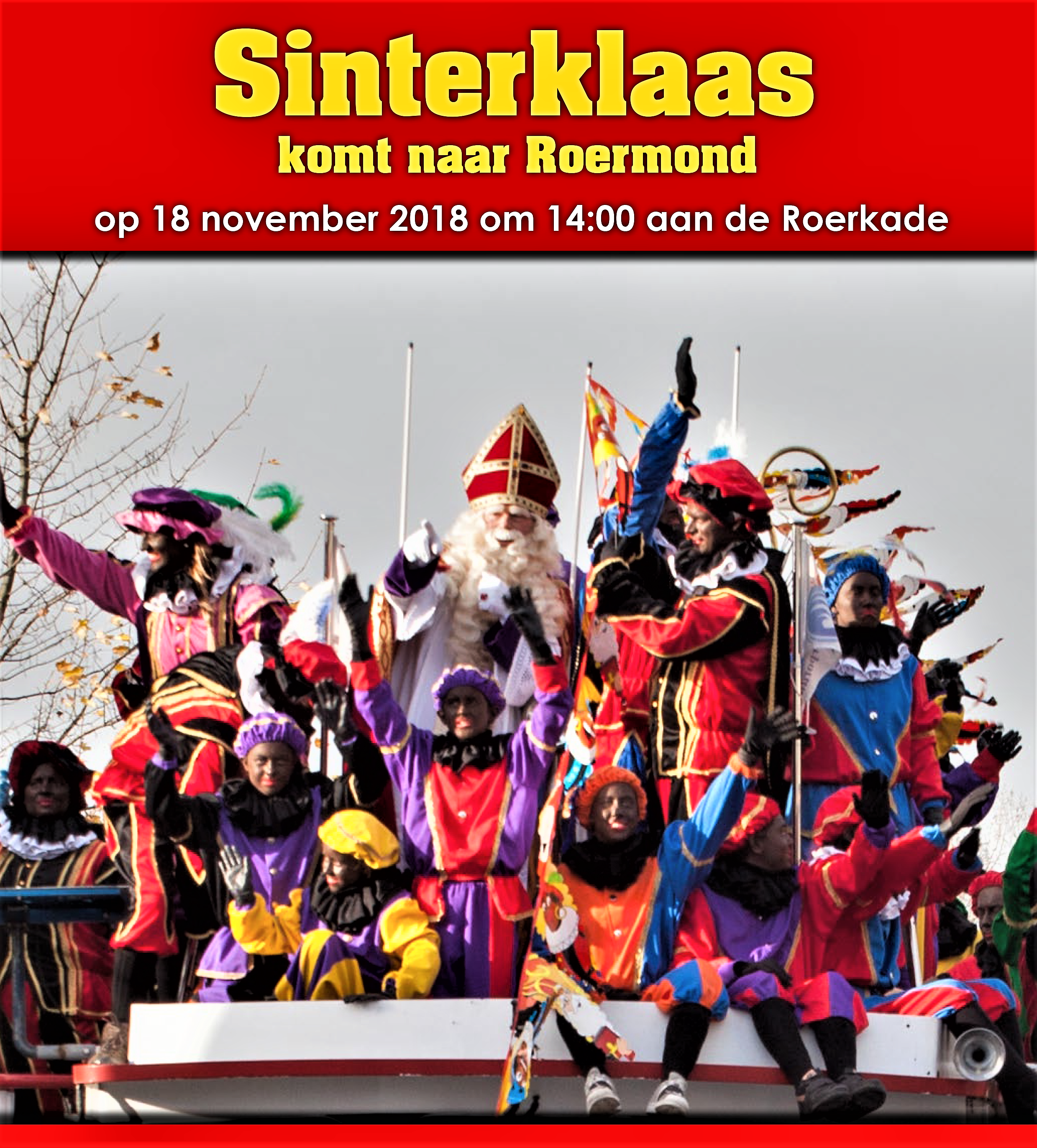De Grote Sinterklaasintocht In Roermond Hallo Online